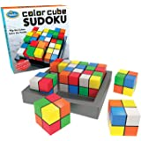 Think Fun Color Cube Sudoku - Fun, Award Winning Version of Sudoku Using Colors Instead of Numbers For Age 8 and Up