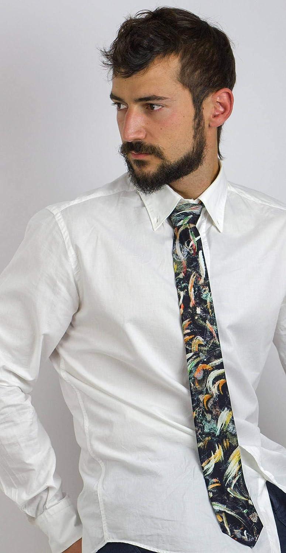 Corbata diseño abstracto, Moda masculina atrevida, Regalo para el ...