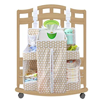 Outstanding Biubee Baby Large Diaper Nursery Hanging Organizer Changing Table Organizer Diaper Caddy Download Free Architecture Designs Embacsunscenecom