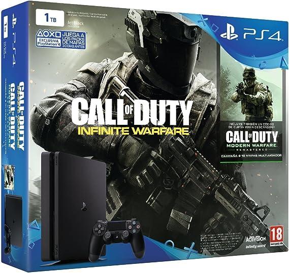 PlayStation 4 Slim (PS4) 1TB - Consola + COD: Infinity Warfare - Legacy Edition: Amazon.es: Videojuegos