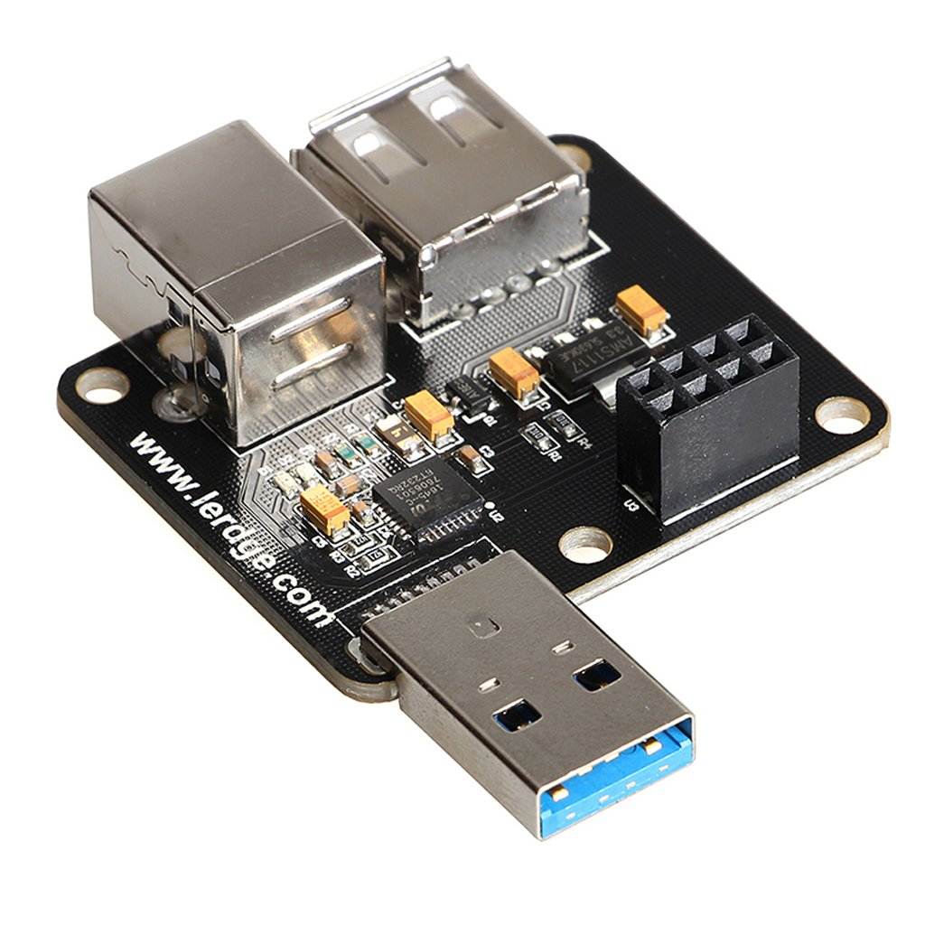 Homyl 3D Printer Part USB/WIFI Expansion Module Online Print Board for Lerdge-S
