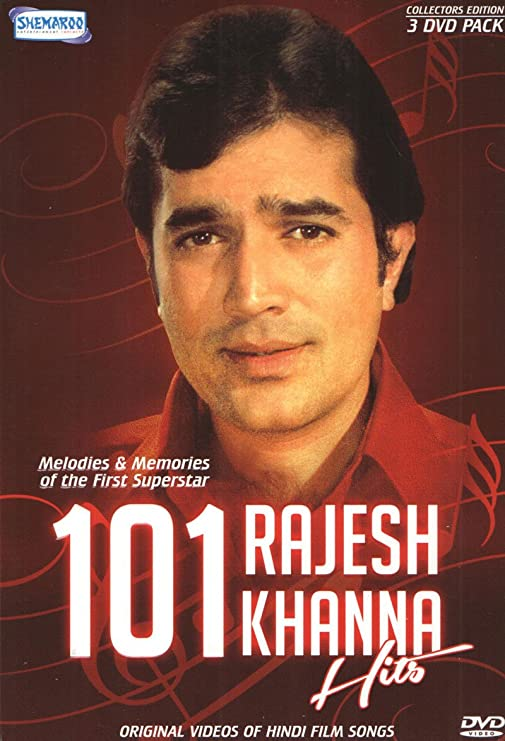Amazon.in: Buy 101 Rajesh Khanna Hits (Original Video of Hindi Film Songs)  DVD, Blu-ray Online at Best Prices in India | Movies & TV Shows