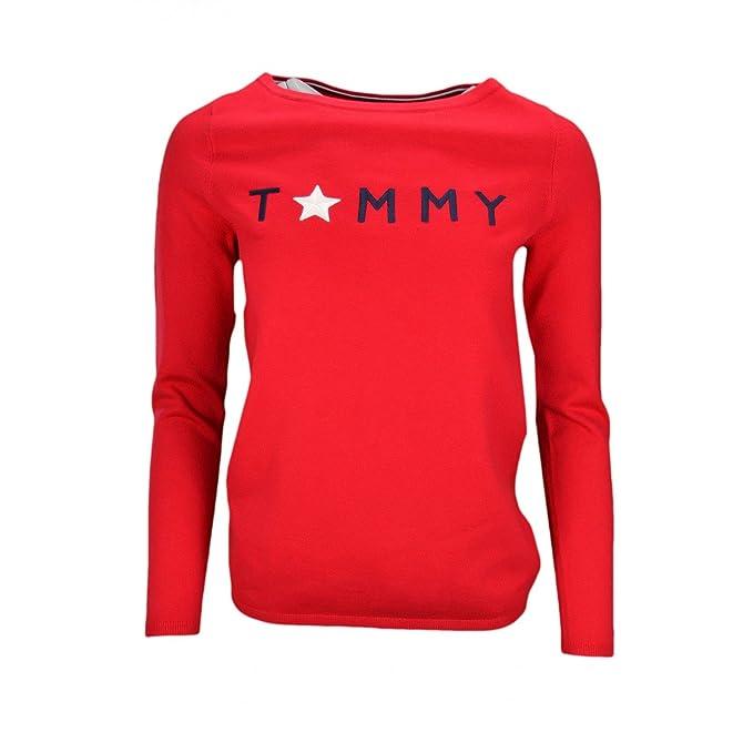 Tommy Hilfiger - Jerséi - Blusa - para Mujer: Amazon.es: Ropa y accesorios