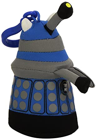Doctor Who Underground Toys Peluche Dalek (llavero con voz y sonido, en inglés), color azul