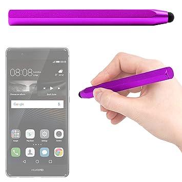 DURAGADGET Lápiz Stylus Morado para Smartphone Huawei Honor 6/7 ...