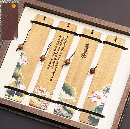 Segnalibro segnalibro retr/ò classico lunga nappa segnalibro regalo in metallo in stile cinese per i regali degli amici 1 set
