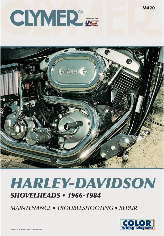 [TBQL_4184]  Amazon.com: Clymer M420 Repair Manual For Harley-Davidson Shovelheads  (M420): Automotive | 1966 Flh Cycle Electric Wiring Diagrams |  | Amazon.com