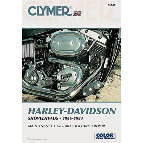 Amazon.com: Clymer Harley-Davidson Shovelheads (1966-1984): Sports on