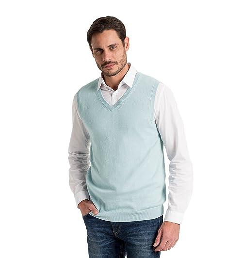 Wool Overs Pull sans manches homme en cachemire et coton: Amazon.fr:  Vêtements et accessoires