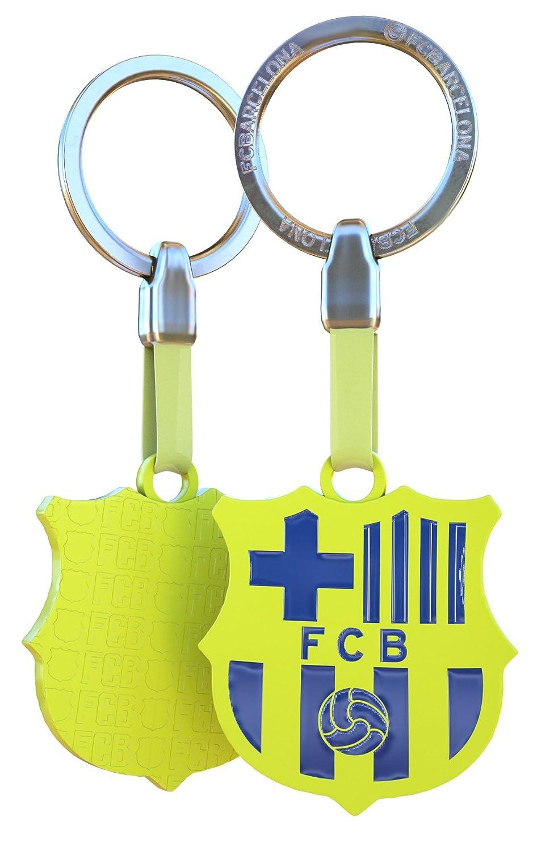 Llavero FCBARCELONA amarillo Fluor: Amazon.es: Deportes y ...