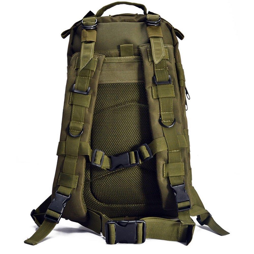 Shubiaoオスとメスアウトドア登山バッグリュックサック迷彩バックパック3pアタックパッケージAssaultバッグ  アーミーグリーン B07FDVHQF9