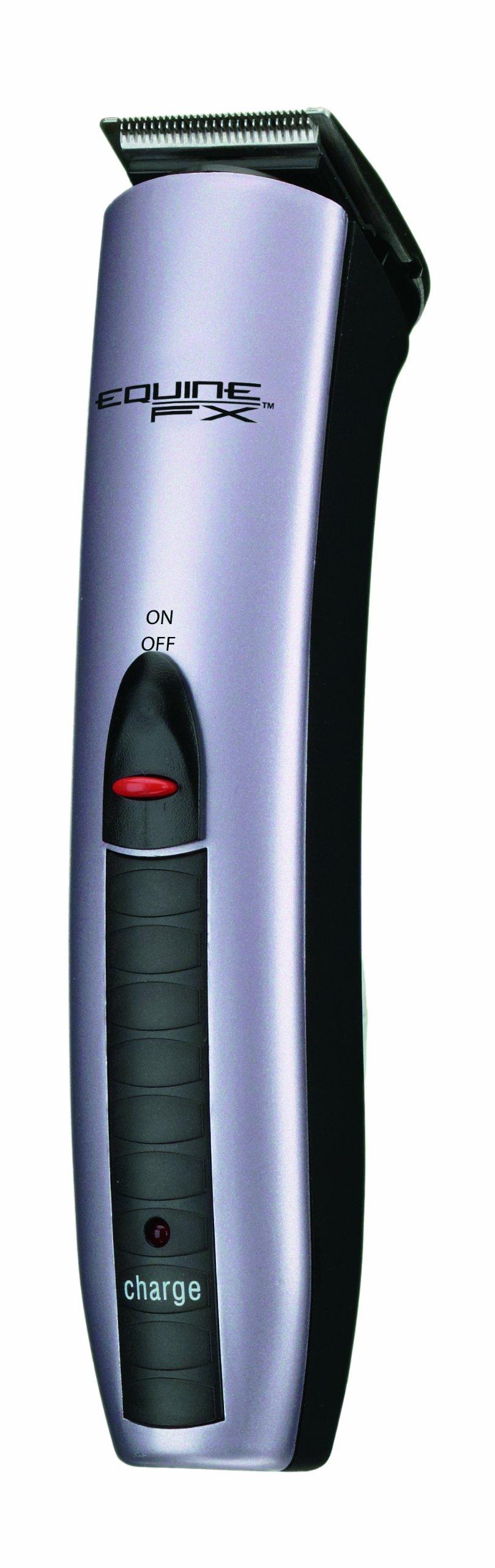 Conair Equine FX Flexi-Groom Professional Cord/Cordless Trimmer, Equine Professional Grooming, Pearled Lavender