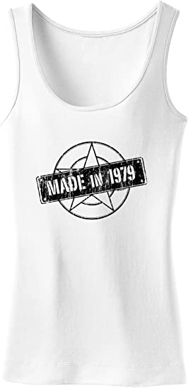 Amazon.com: Camiseta de tirantes para mujer fabricada en ...