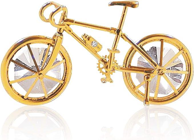 Crystal Delight by Mascot 24 K Oro Adorno de Bicicleta ...