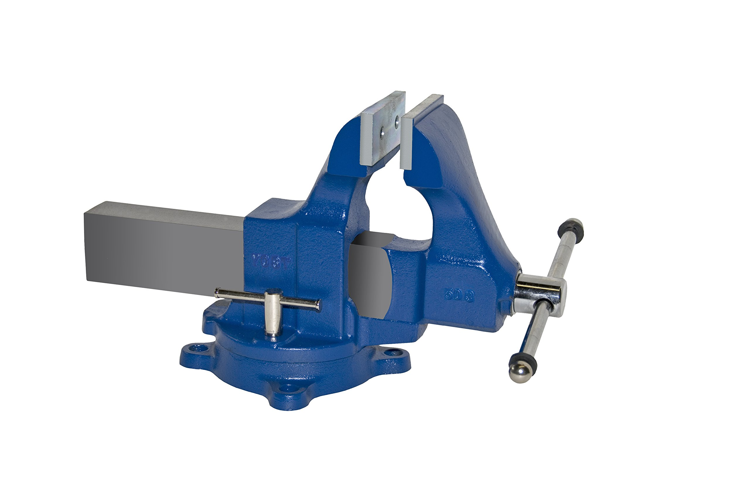 Yost Vises 503 4.5'' Sheet Metal Vise with 360-degree Swivel Base, Made in US