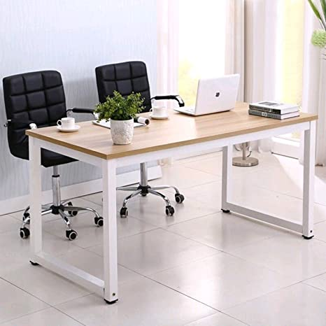 Groovy Mecor Computer Desk Pc Laptop Table Work Station Home Office Furniture Wood Home Interior And Landscaping Transignezvosmurscom