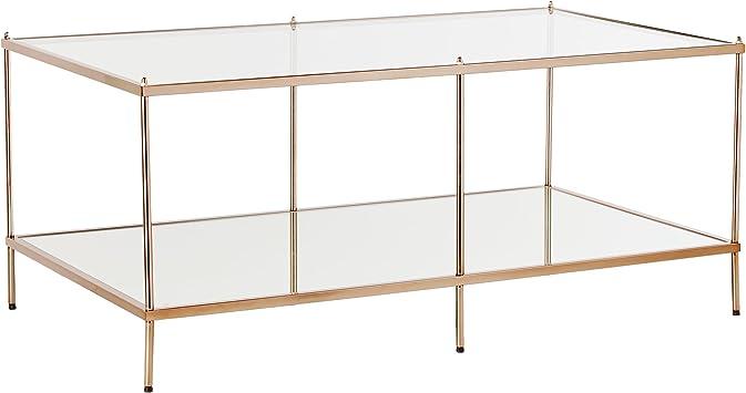 Amazon Com Southern Enterprises Knox Cocktail Table Metallic