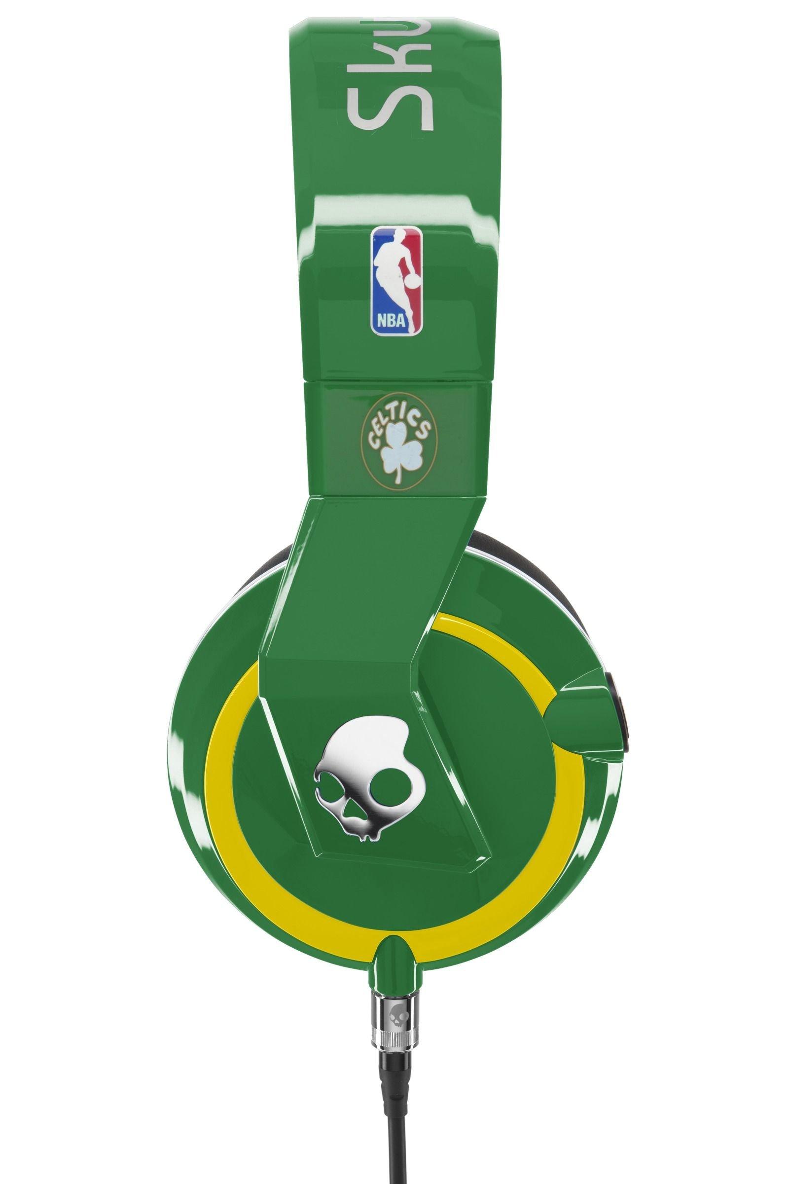 Skullcandy Mix Master Headphones with DJ Capabilities and 3 Button Mic, NBA Boston Celtics by Skullcandy (Image #3)