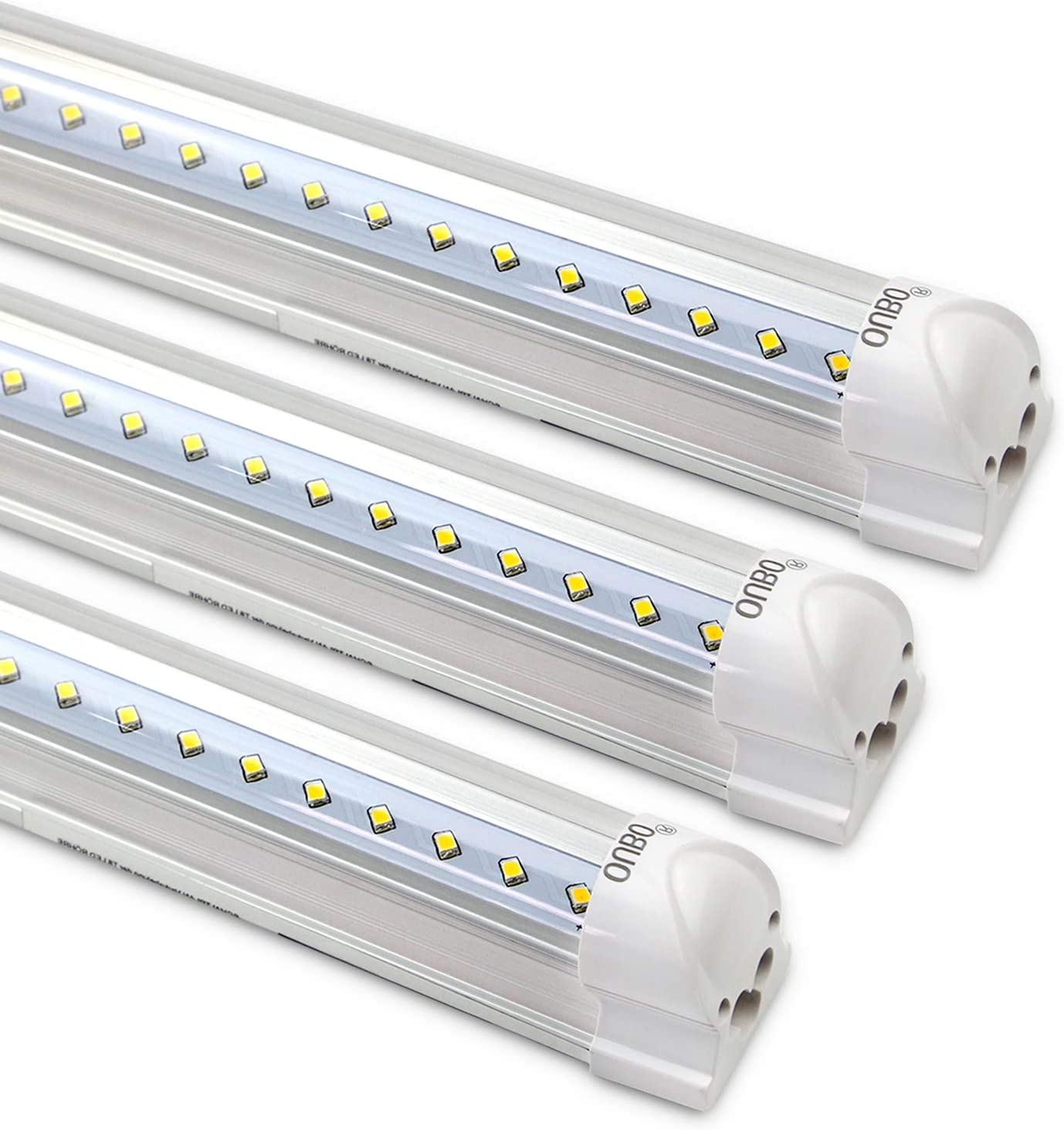 2pcs LED Röhre Tube Leuchtstoffröhre Leuchtstofflampe Lichtleiste Lampe 120cm