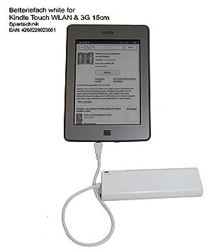 Batería compartimento para Kindle Touch WIFI & 3 G con 15 cm ...