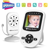 Video Baby Monitor with  Camera [2018 New Arrival], Auto Infrared Night Vision, Temperature Monitoring, ECO Power-saving Mode, Two-way Talk Function