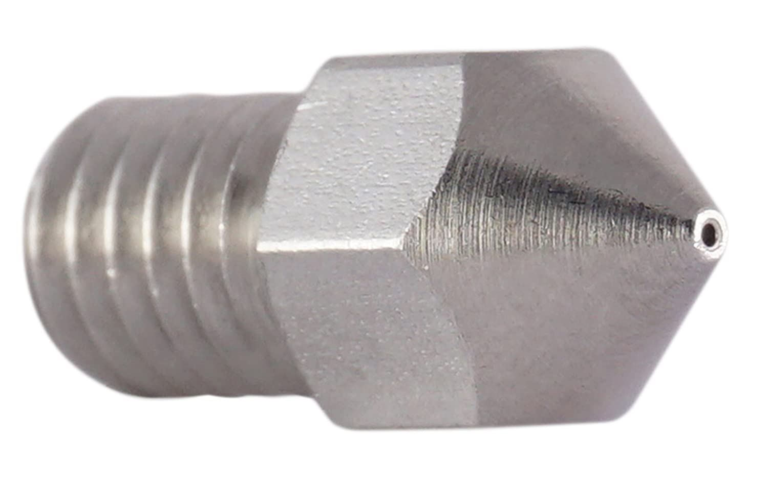 0.4mm precision stainless steel nozzle compatible with MK8 Makerbot RepRap Anet A8//A6 extruder hot end for 1.75mm filament 2 3D FREUNDE 3 pcs 0.3mm