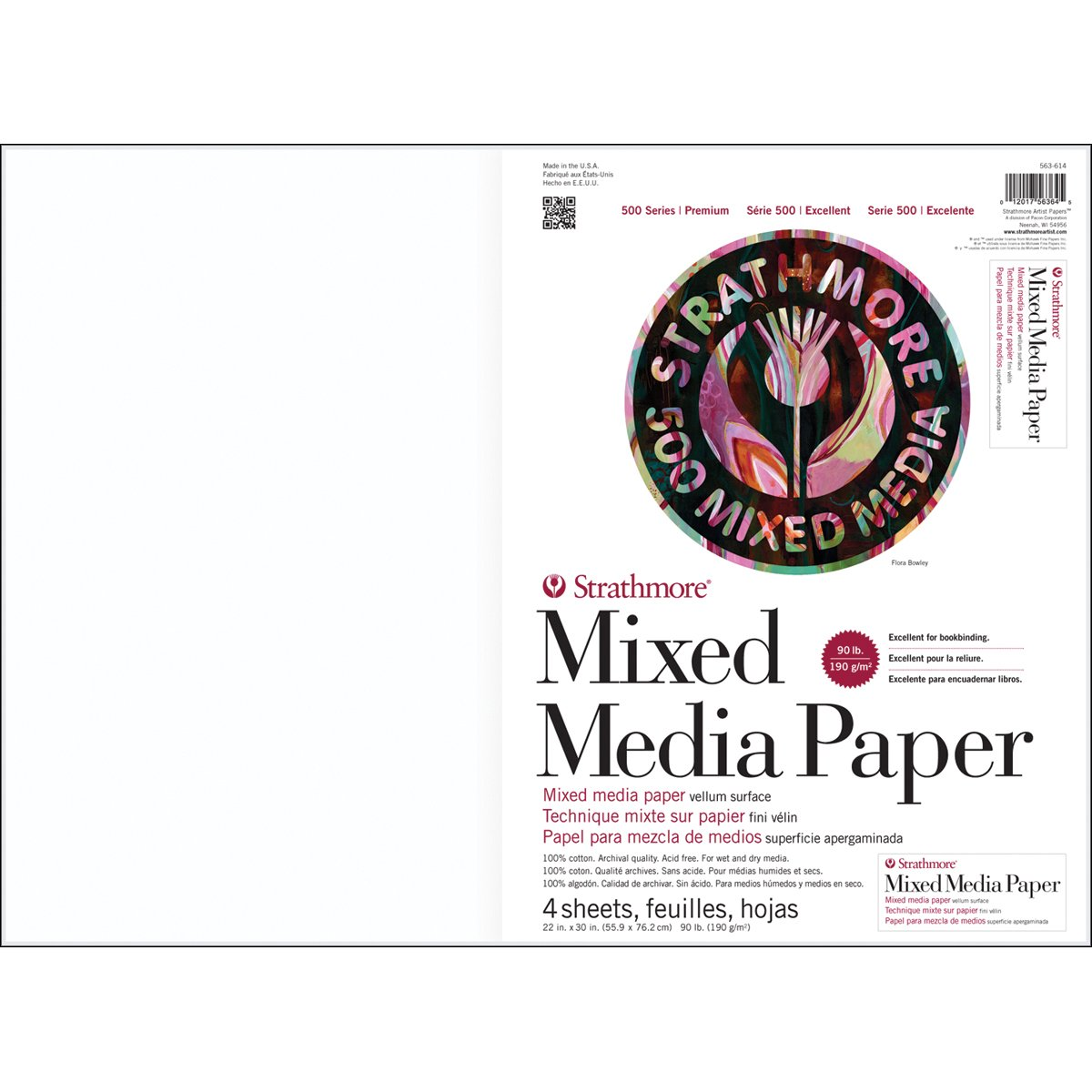 500 Series Mixed Media Sheets and Boards (Set of 4)