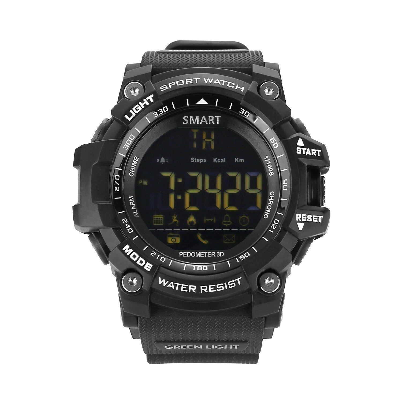 Amazon.com: UMEI Mens Military Smart Watch, EX16 Bluetooth ...