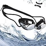rabofly Gafas de Natación, Protección UV Antiniebla Gafas de nado Impermeable y Vista Clara Gafas para Nadar para Unisex Adulto y Niños (10 años+)