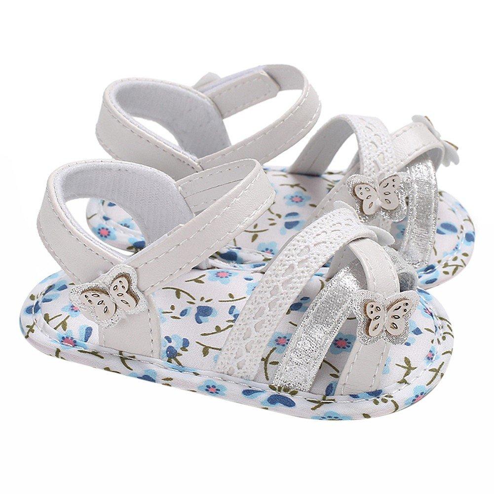 61efc17ff1d85 Minuya Chaussures de Bébé, Chaussures Bebe Fille Cuir Souple Bowknot ...