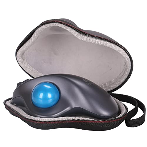 LTGEM EVA Hard Protective Case Travel Carrying Storage Bag for Logitech M570 Wireless Mouse Trackball Cordless