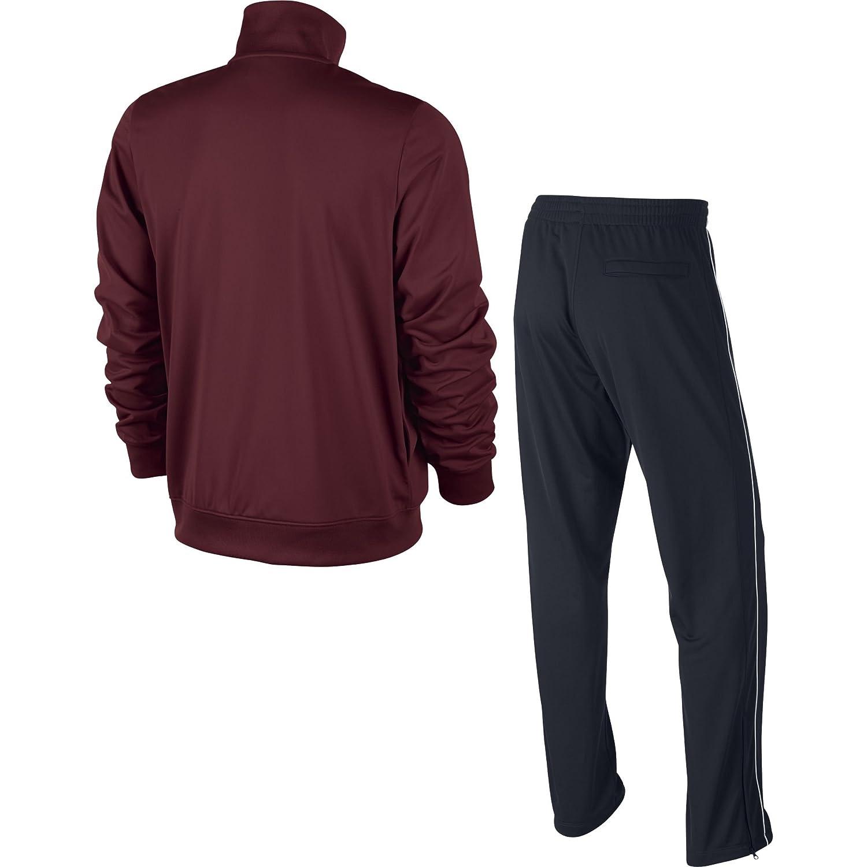 Nike Herren Trainingsanzug Breakline Trainingsanzug Herren Dunkelrot Schwarz Schwarz Schwarz Weiß 573e5e