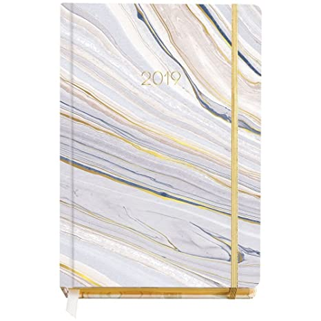Amazon.com : Paper Source Luxe Page A Day 2019 Agenda ...