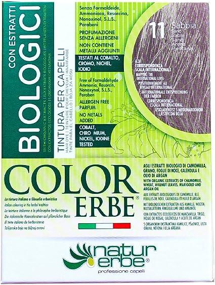 Naturerbe Color Erbe Estratti Bio Tintura 11 Sabbia: Amazon ...
