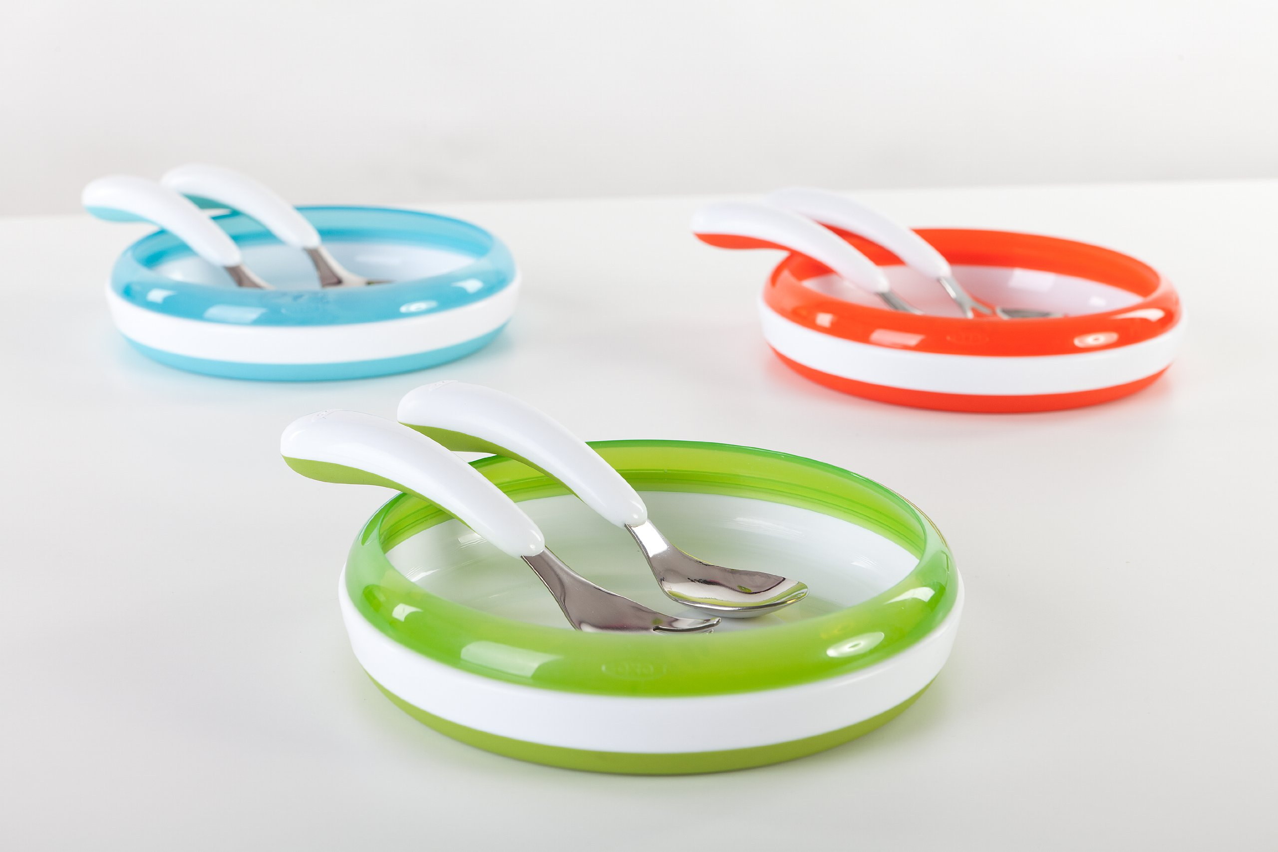 OXO Tot Training Fork & Spoon Set- Green
