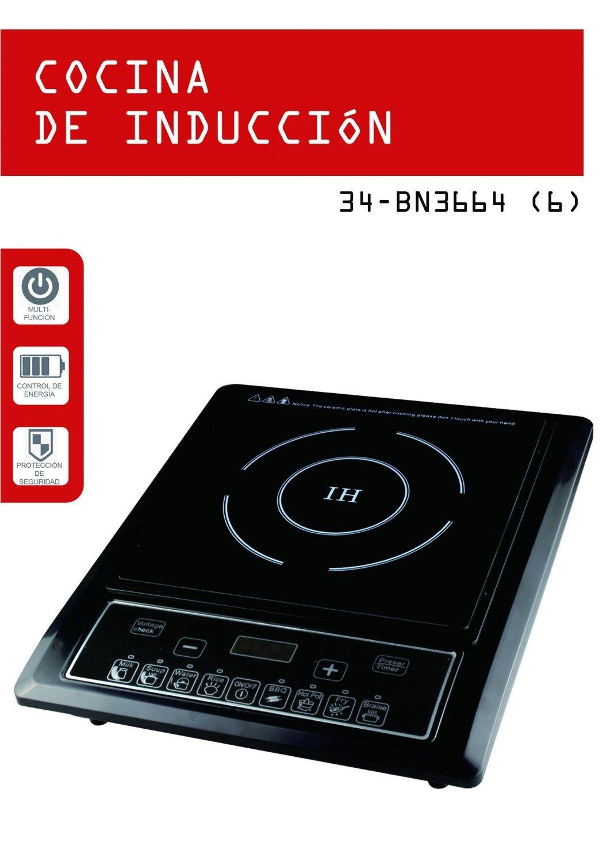 Bravo Nippon Cocina de inducción BN3664: Amazon.es: Hogar