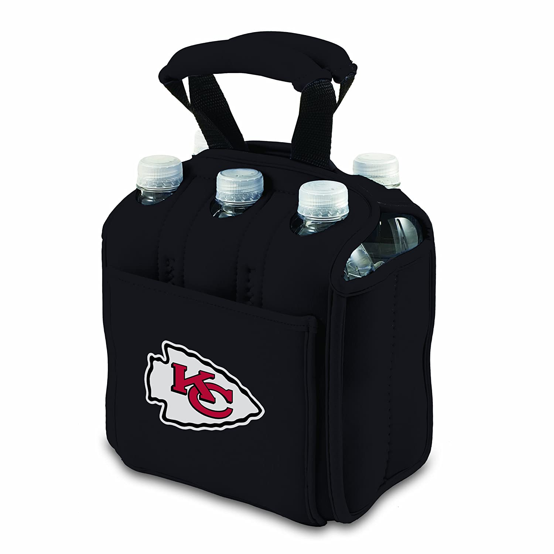 NFL Kansas City Chiefs Six Pack Cooler Tote Black