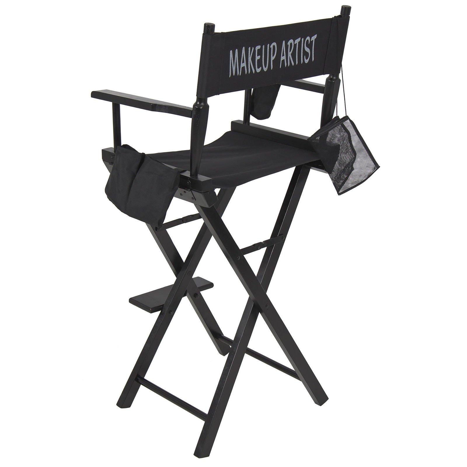 New! Makeup Artist Director's Chair! Light weight flexible & Foldable Professional Designed 022