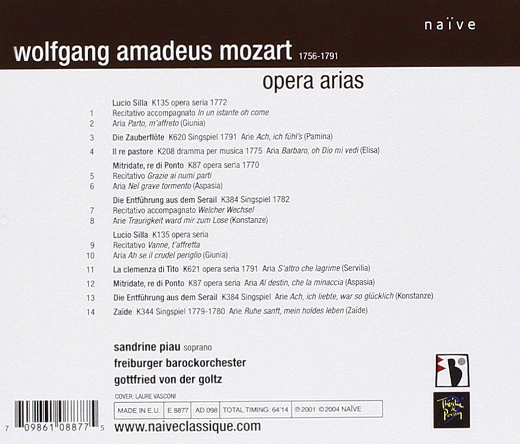 Sandrine Piau - Mozart Opera Arias