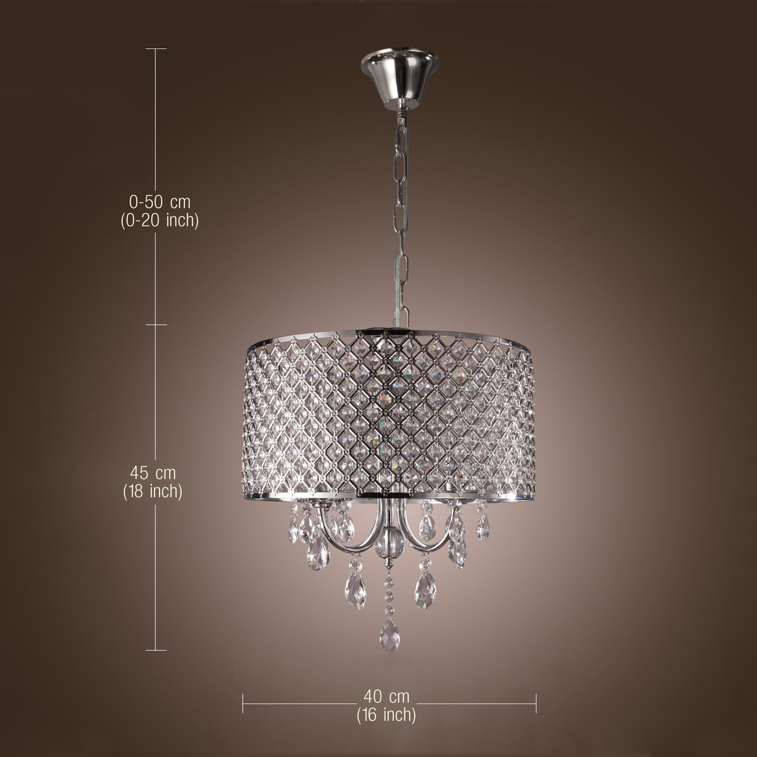 LightInTheBox Modern Chandeliers with 4 Lights Pendant Light with – Modern Chandelier Lights