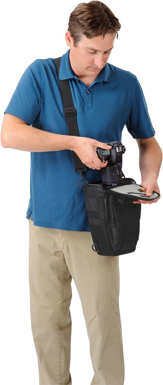 Lowepro Toploader Zoom 50 AW - Funda para cámara (Correa para ...