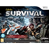 Nintendo Wii Cabelas Survival Shadows Of Katmai Bundle - NINTENDO