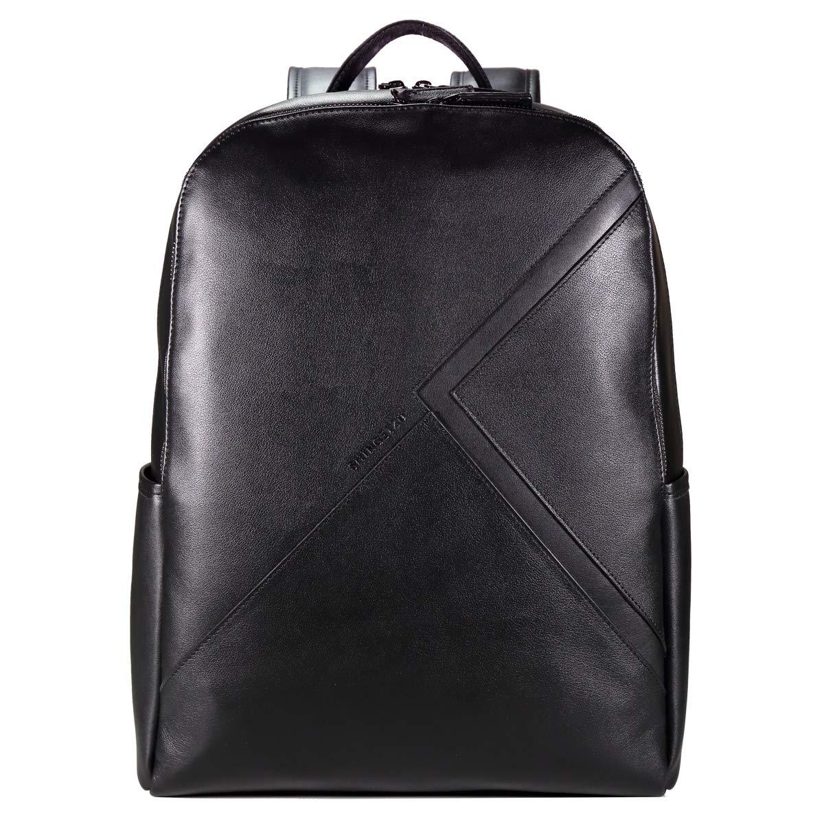 「鎌倉真月」本革 バックパック リュックサック メンズ 牛革 レザーバッグ 鞄 高級 カジュアル A4 通勤 仕事 ビジネス BPHT-0004-BLK   B07K47CDQT