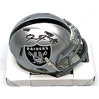 $134 » Josh Jacobs Autographed Las Vegas Oakland Raiders Mini Helmet Beckett Witnessed - Autographed NFL Mini Helmets
