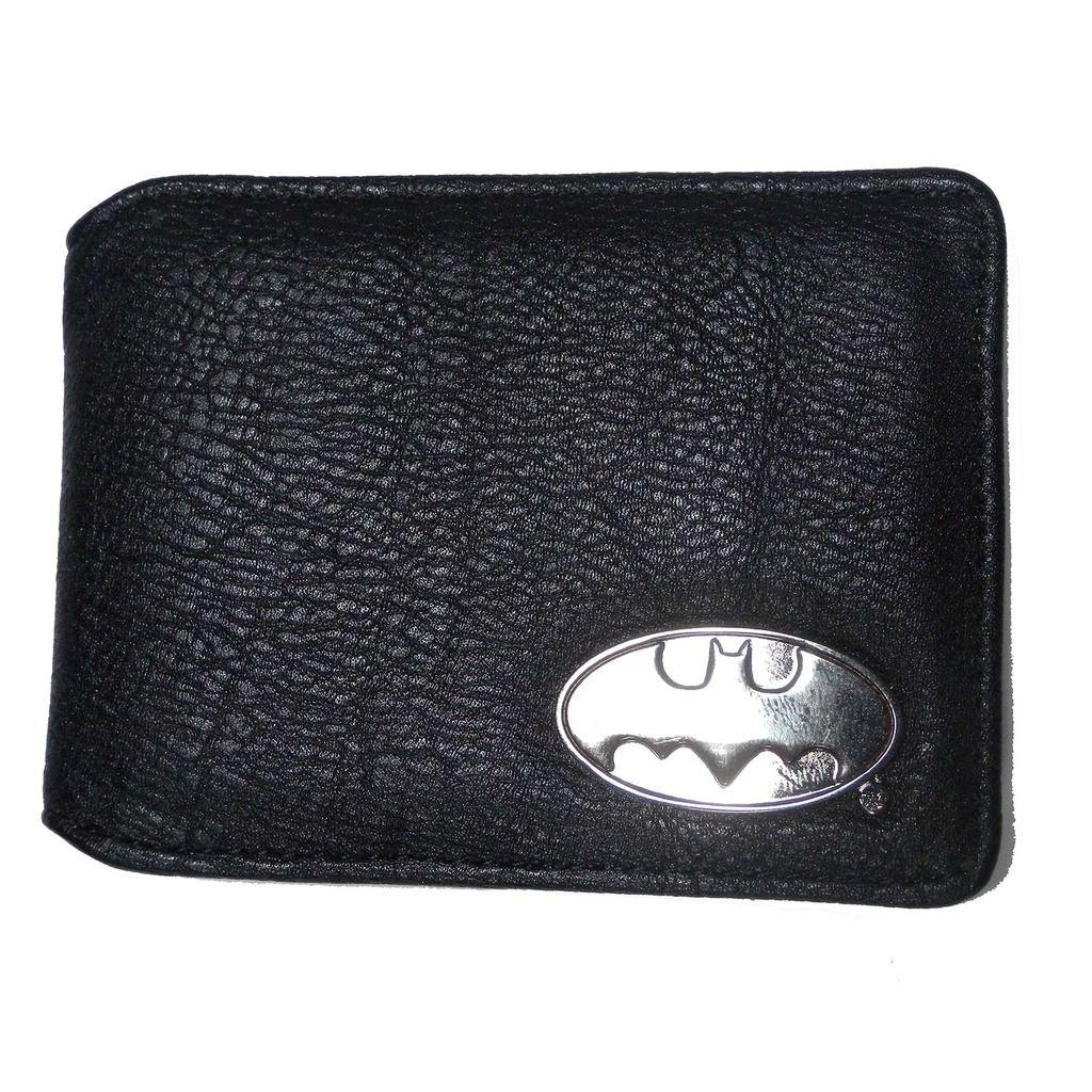 Offizielle DC Comics schwarz Batman Reisen Oyster Kartenhalter und innen Comic Print