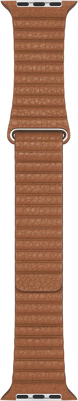 Apple Watch Leather Loop (44mm) - Saddle Brown - Large