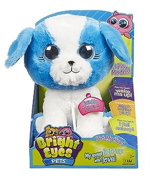 bright eyes twinkle puppy plush toy