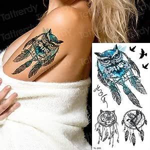 adgkitb 4 Piezas Tatuaje Manga Mujeres Tatuaje Temporal Pegatinas ...