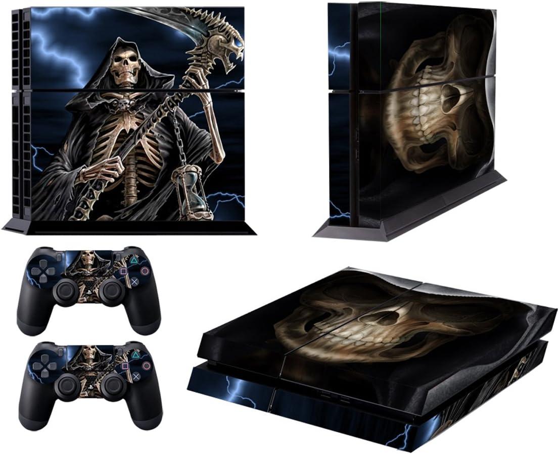 Grim Reaper Ps4 Skin Vinyl Decal Playstation 4 Console Designer Sticker 175 Faceplates, Decals & Stickers