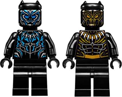 Amazon.com: LEGO Super Heroes: Black Panther y Erik ...
